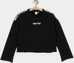 Czarna bluza Vans w stylu casual