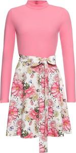 Sukienka bonprix BODYFLIRT boutique z długim rękawem w stylu casual mini