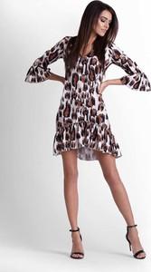 Sukienka Ivon z długim rękawem w stylu casual