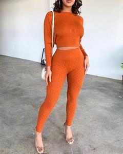 Pomarańczowy Kendallme w stylu casual