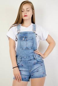 Szorty Olika z jeansu w młodzieżowym stylu