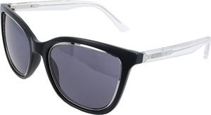 Niebieskie okulary damskie Guess