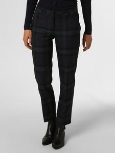 Granatowe spodnie Marie Lund w stylu klasycznym