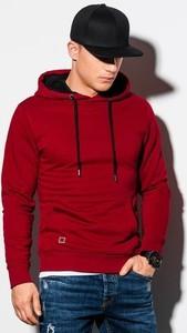 Czerwona bluza Ombre