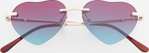 Reserved - Okulary przeciwsłoneczne serca - Wielobarwn