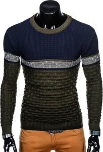 Zielony sweter inny w stylu casual