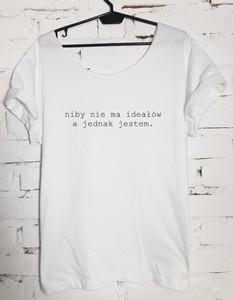 T-shirt Time For Fashion w młodzieżowym stylu z krótkim rękawem z okrągłym dekoltem