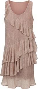 Sukienka Heine z okrągłym dekoltem maxi