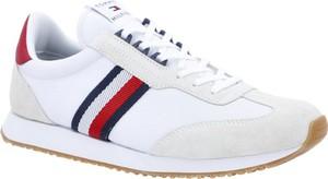 Tommy Hilfiger Skórzane sneakersy RUNNER