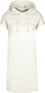 Sukienka Marc O'Polo z krótkim rękawem prosta mini
