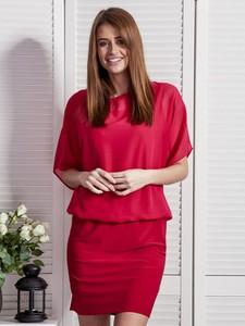 Czerwona sukienka Sheandher.pl mini