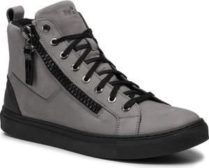 Sneakersy NIK - 02-0629-02-0-08-03 Szary