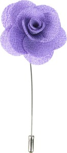Em Men`s Accessories Szpilka fioletowy kwiat EM 43