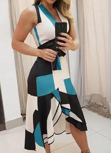 Sukienka Arilook z długim rękawem midi