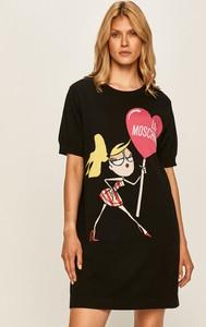 Sukienka Love Moschino z krótkim rękawem