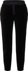 Czarne spodnie Juicy Couture Black Label z tkaniny