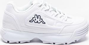 Buty sportowe Kappa sznurowane w sportowym stylu na platformie