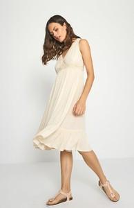 Sukienka Surkana bez rękawów midi
