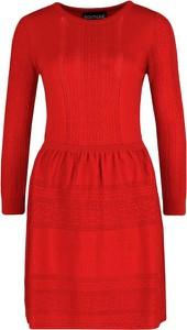 Sukienka Boutique Moschino w stylu casual trapezowa