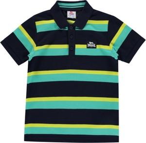 Czarna koszulka dziecięca Lonsdale