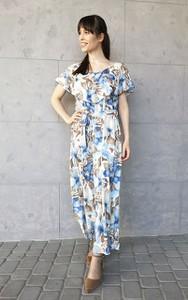 Niebieska sukienka Sklepfilloo maxi