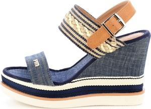 Sandały Prima Moda na wysokim obcasie w stylu casual