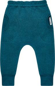 Niebieskie spodnie dziecięce Mammamia dla chłopców