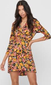 Sukienka WARESHOP mini z długim rękawem