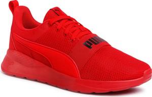 Czerwone buty sportowe eobuwie.pl sznurowane