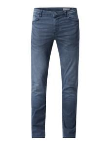 Niebieskie jeansy Review z bawełny