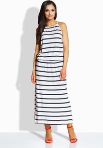 17e7fcc635 biała sukienka maxi - stylowo i modnie z Allani
