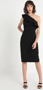Czarna sukienka Kiomi dopasowana hiszpanka bez rękawów