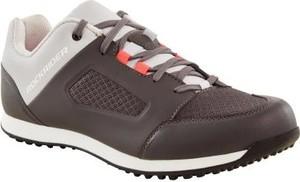 Brązowe buty sportowe Rockrider z płaską podeszwą
