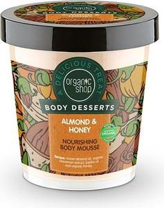 Organic Shop, Body Desserts, mus do ciała, Almond & Heney Milk, 450 ml