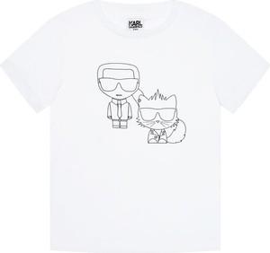 Koszulka dziecięca Karl Lagerfeld dla chłopców