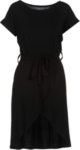 Czarna sukienka Multu w stylu casual