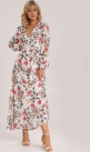 Sukienka Renee w stylu boho z długim rękawem