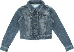 Niebieska kurtka dziecięca diesel z bawełny