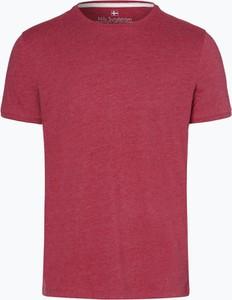 Czerwony t-shirt Nils Sundström z dżerseju