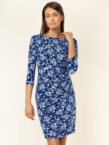 Niebieska sukienka Ralph Lauren w stylu casual mini
