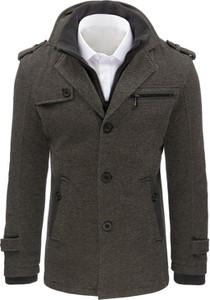 Płaszcz męski Dstreet z bawełny