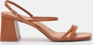 Brązowe sandały Sinsay