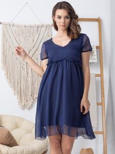 Sukienka Grandio z krótkim rękawem z dekoltem w kształcie litery v