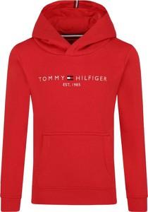 Czerwona bluza dziecięca Tommy Hilfiger