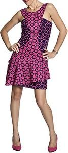 Fioletowa sukienka Anoushka w stylu casual