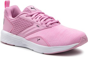 Różowe buty sportowe dziecięce Puma sznurowane dla dziewczynek