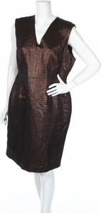 Sukienka Perri Cutten prosta bez rękawów