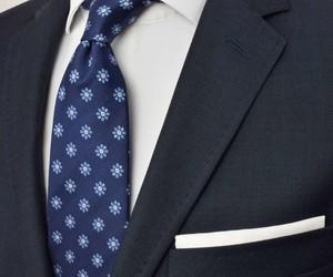 Granatowy krawat Republic of Ties