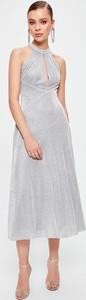 Sukienka Trendyol z dekoltem halter bez rękawów