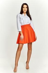 Pomarańczowa spódnica LA BLANCHE midi